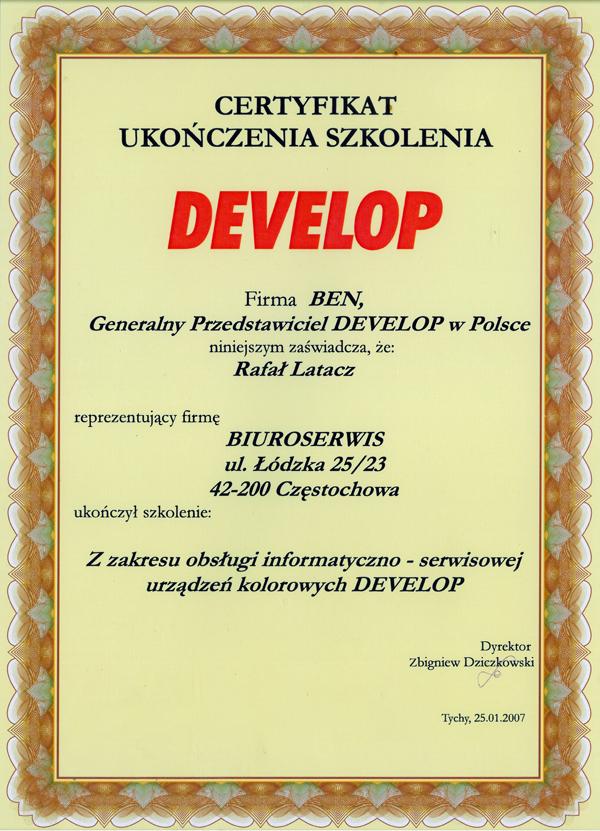 dyplom certyfikat